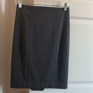 Professional grey skirt